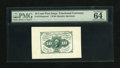Fractional Currency:First Issue, Fr. 1243SP 10c First Issue Medium Margin Face Specimen Choice Uncirculated 64 EPQ. This Medium Margin Specimen is listed as ...
