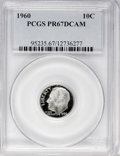 Proof Roosevelt Dimes: , 1960 10C PR67 Deep Cameo PCGS. PCGS Population (99/339). NGCCensus: (81/190). Numismedia Wsl. Price for NGC/PCGS coin in ...