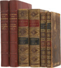 Books:Fiction, Six Assorted Leatherbound Books, From the Library of GlennFord.... (Total: 6 Items)