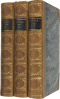 Books:First Editions, William Cowper. The Poetical Works of William Cowper - In ThreeVolumes. Boston: Little, Brown and Company, 1863. ... (Total: 3Items)