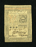 Colonial Notes:Pennsylvania, Pennsylvania October 1, 1773 15s Very Fine-Extremely Fine....