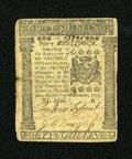Colonial Notes:Pennsylvania, Pennsylvania December 8, 1775 40s Fine-Very Fine....
