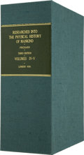 Books:First Editions, Clamshell Conservation Case for Researches Into the PhysicalHistory of Mankind....