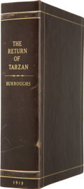 Books:First Editions, Clamshell Conservation Case for The Return of Tarzan....