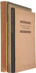 Books:Non-fiction, Douglas C. McMurtrie. Lot of Four Books on the History of Printing,... (Total: 4 Items)