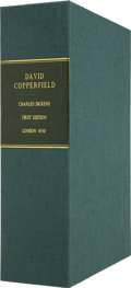 Books:First Editions, Clamshell Conservation Case for David Copperfield....