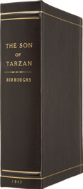 Books:First Editions, Clamshell Conservation Case for The Son of Tarzan....
