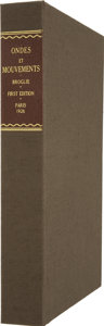 Books:First Editions, Clamshell Conservation Case for Ondes et Mouvements....