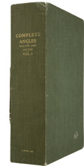 Books:First Editions, Custom Conservation Case for The Complete Angler....