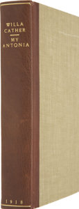 Books:First Editions, Willa Cather. My Ántonia. Boston: Houghton Mifflin Company,1918....