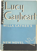 Books:First Editions, Willa Cather. Lucy Gayheart. New York: Alfred A. Knopf,1935....