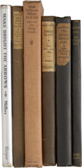 Books:First Editions, Lot of Six Edna St. Vincent Millay First Editions... (Total: 6Items)