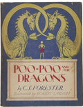Books:Children's Books, C. S. Forester. Poo-Poo and the Dragons. Boston: Little,Brown and Company, 1942....