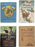 Books:Children's Books, Four Books Written and Illustrated by Robert Lawson... (Total: 4Items)