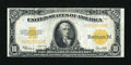 Large Size:Gold Certificates, Fr. 1173 $10 1922 Gold Certificate Very Fine+....