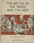 Books:Children's Books, George Martin. The Battle of the Frogs and the Mice, An HomericFable. New York: Dodd, Mead & Company, [1962]....