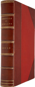Books:First Editions, James E. Doyle. A Chronicle of England B.C. 55 - A.D.1485....