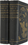 Books:Fiction, Percy Bysshe Shelley. The Poetical Works of Percy Bysshe Shelley- The Buxton Forman Edition. London: Re...