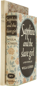 Books:First Editions, Lot of Two Willa Cather First Editions,... (Total: 2 Items)