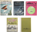 """Books:Children's Books, Lot of Five Cartoon Books, Including Four by Chas. Addams and Oneby """"Alain.""""... (Total: 5 Items)"""