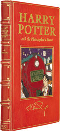 Books:First Editions, J.K. Rowling. Harry Potter and the Philosopher's Stone.London: Bloomsbury, [1997]....
