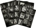 Movie/TV Memorabilia:Photos, Marilyn Monroe Some Like It Hot Set of 49 Contact Sheets...(Total: 49 Items)