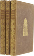 Books:First Editions, Charles Dickens. Master Humphrey's Clock - In Three Volumes.London: Chapman and Hall, 1840-41.... (Total: 3 Items)