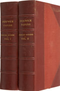 Books:First Editions, Charles Dickens. The Posthumous Papers of the Pickwick Club.London: The Piccadilly Fountain Press, 1932. From... (Total: 2Items)