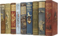 Books:Children's Books, Lot of Nine Adventure Novels For Boys by G. A. Henty, All InBeautiful Pictorial Bindings,... (Total: 9 Items)
