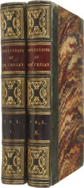 Books:First Editions, [Charles Lever]. Confessions of Con. Cregan: The Irish GilBlas. London: Wm. S. Orr and Co., [1849]. From the ...(Total: 2 Items)