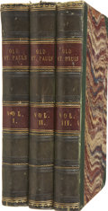 Books:First Editions, William Harrison Ainsworth. Old Saint Paul's: A Tale of thePlague and the Fire. London: Hugh Cunningham, 1841. ... (Total:3 Items)