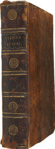 Books:First Editions, Richard Steele. The Epistolary Correspondence of Sir RichardSteele - Two Volumes, Bound in One. London: J. Robs...