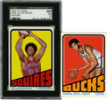 Basketball Cards:Lots, 1972-73 Topps Basketball Collection (2). ... (Total: 2 cards)