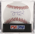 Autographs:Baseballs, Jake Peavy Single Signed Baseball, PSA Gem Mint 10....