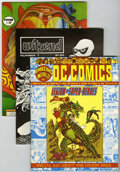 Magazines:Miscellaneous, Miscellaneous Fanzines Group (Various Publishers, 1975-78)Condition: Average VF.... (Total: 10 Comic Books)