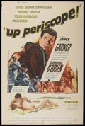 """Movie Posters:War, Up Periscope (Warner Brothers, 1959). Poster (40"""" X 60""""). War.. ..."""