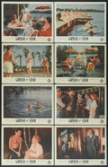 """Movie Posters:Adult, Garden of Eden (Excelsior, 1954). Lobby Card Set of 8 (11"""" X 14""""). Adult.... (Total: 8 Items)"""
