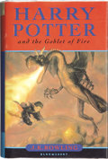 Books:Signed Editions, J. K. Rowling. Harry Potter and the Goblet of Fire. London:Bloomsbury, 2000.. ...