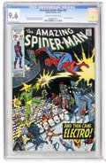 Bronze Age (1970-1979):Superhero, The Amazing Spider-Man #82 (Marvel, 1970) CGC NM+ 9.6 Off-white towhite pages....