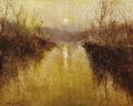 Paintings, PAL FRIED (Hungarian, 1893-1976). River Scene France. Acrylic on canvas. 24 x 30 inches (61.0 x 76.2 cm). Signed lower l...