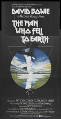 "Movie Posters:Science Fiction, The Man Who Fell to Earth (Lion International, 1976). British ThreeSheet (41"" X 81""). Science Fiction...."
