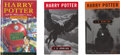 Books:Fiction, J. K. Rowling. Lot of Three Books in the Harry Potter Series...(Total: 3 Items)