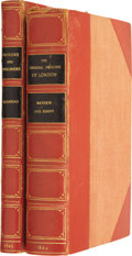 Books:Non-American Editions, Pair of Rare 19th Century Books Dealing With Prisons and Prisonersin England... (Total: 2 Items)