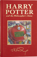 Books:Signed Editions, J. K. Rowling. Harry Potter and the Philosopher's Stone.London: Bloomsbury, 1999.. ...