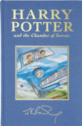 Books:Signed Editions, J. K. Rowling. Harry Potter and the Chamber of Secrets.London: Bloomsbury, 1999.. ...