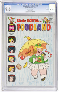 Little Lotta Foodland #28 File Copy (Harvey, 1971) CGC NM+ 9.6 Off-white pages