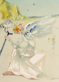 Fine Art - Work on Paper, SALVADOR DALÍ (Spanish, 1904-1989). Homage to Homer Suite -Helen of Troy, 1977. Lithograph. 29 x 21 inches (73.7 x 53.3...