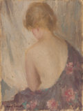 Fine Art - Painting, American:Modern  (1900 1949)  , EDMUND WILLIAM GREACEN (American, 1877-1949). Seated Woman.Oil on artist's board. 15-3/4 x 12 inches (40.0 x 30.5 cm). ...