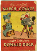 Golden Age (1938-1955):Funny Animal, March of Comics #4 Donald Duck (K. K. Publications, Inc., 1947)Condition: FR/GD....