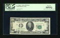 Error Notes:Major Errors, Fr. 2066-L $20 1963A Federal Reserve Note. PCGS About New 50PPQ.....